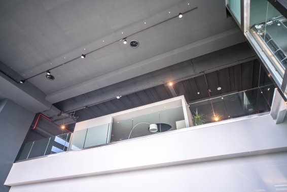 LaFont in the new Iter Ruggeri showroom